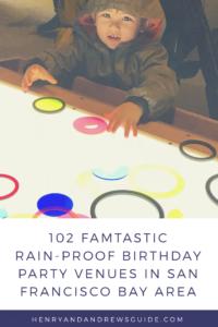 Rainy Day Birthday Party