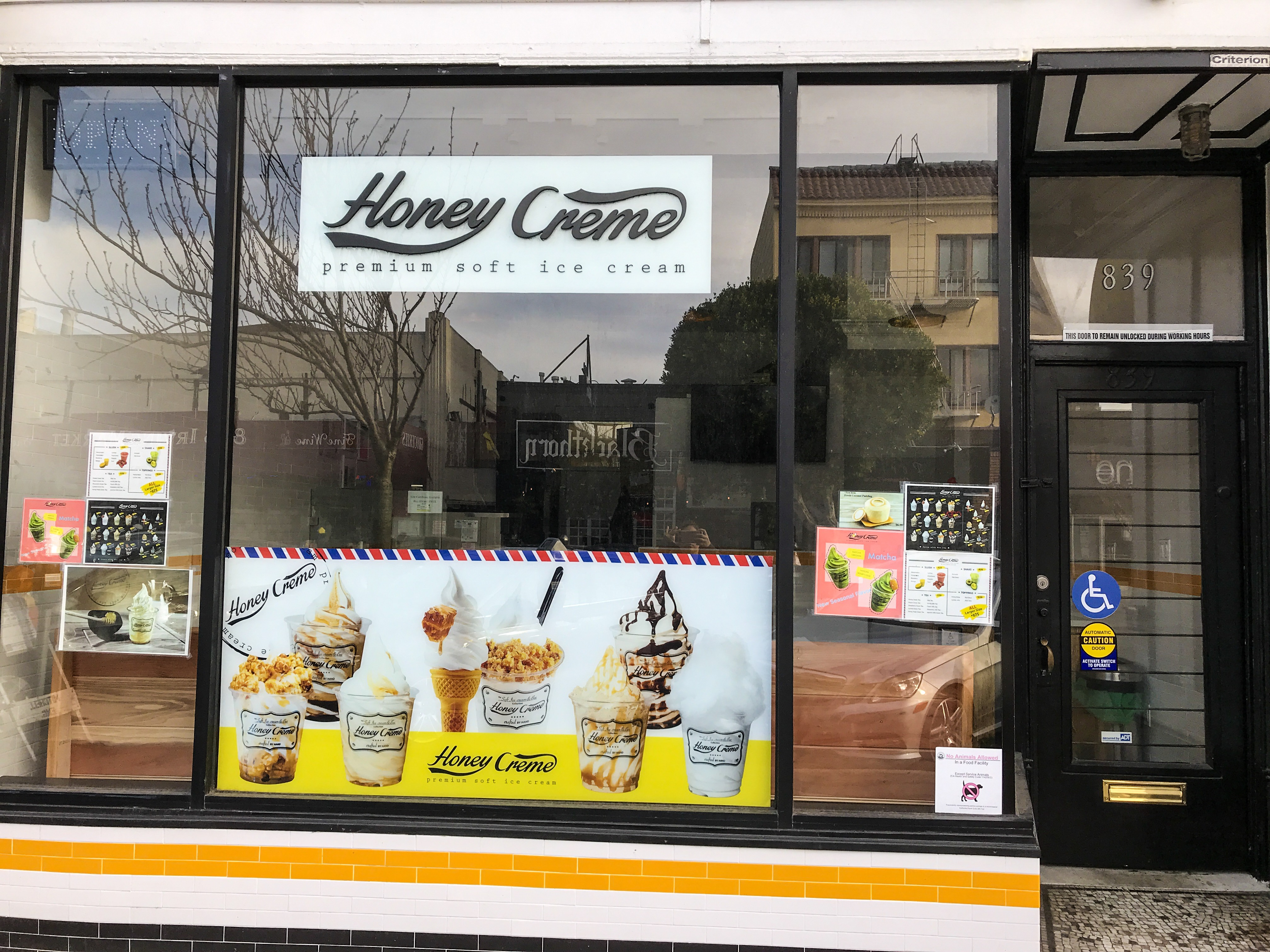 Honey Creme Inner Sunset Henry And Andrews Guide