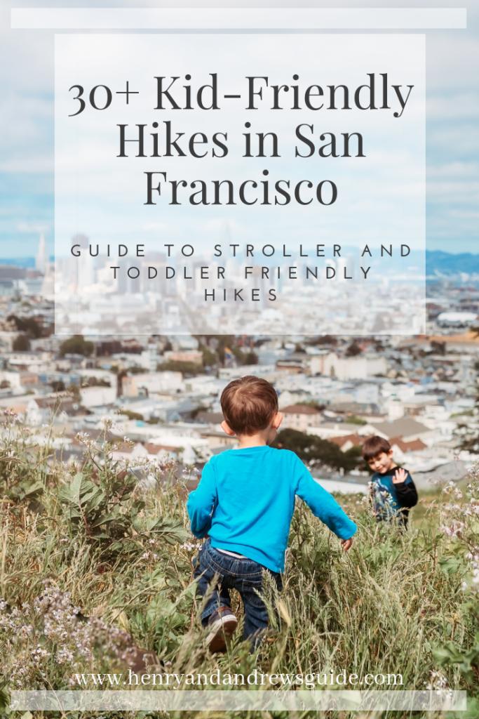 30+ Kid-Friendly Hikes in San Francisco - Presidio, Golden Gate Park